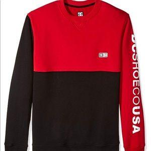 🔘 DC Men's Clewiston Crew Neck Fleece Sweater 🔘